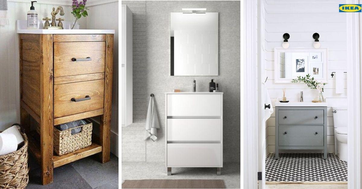meuble lavabo petite salle de bain