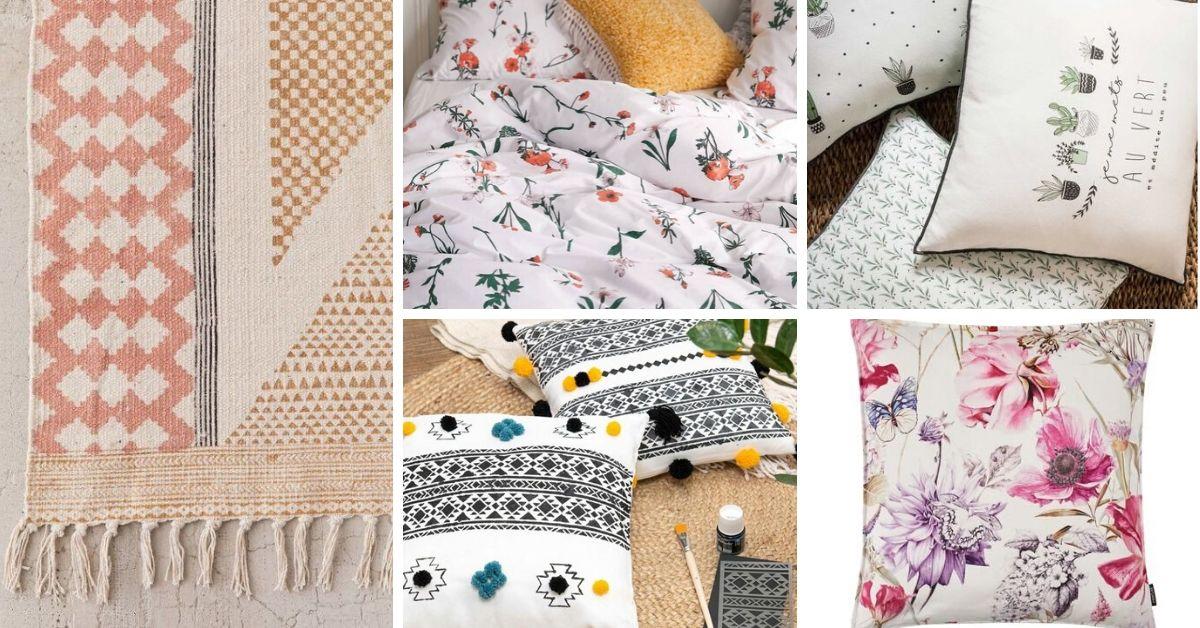textiles du printemps