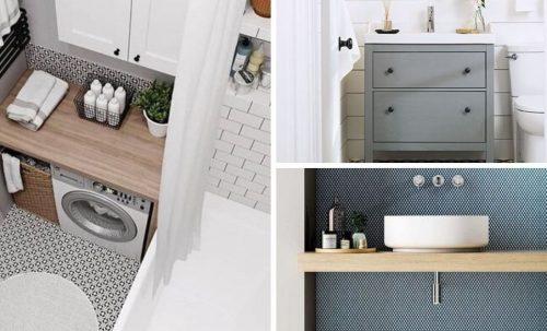 Aménager et décorer une petite salle de bain