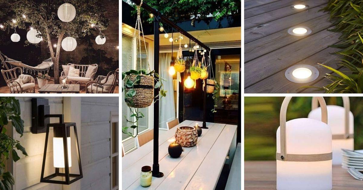 eclairage pour galerie et terrasse