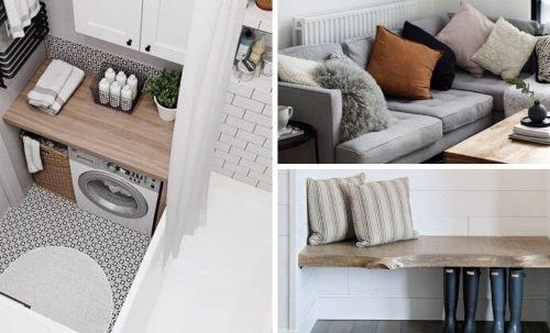 Trucs et astuces pour aménager des petits espaces