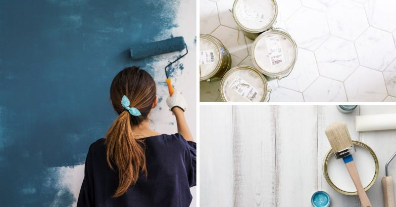 trucs peinture maison