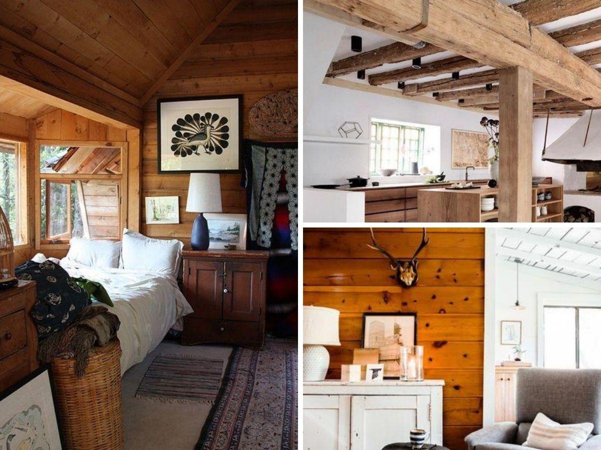 decor en bois pour chalet