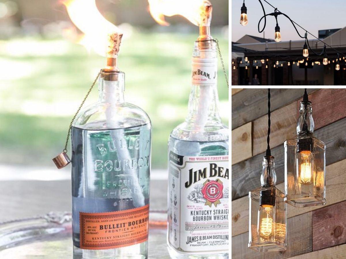 eclairage pour bar exterieur