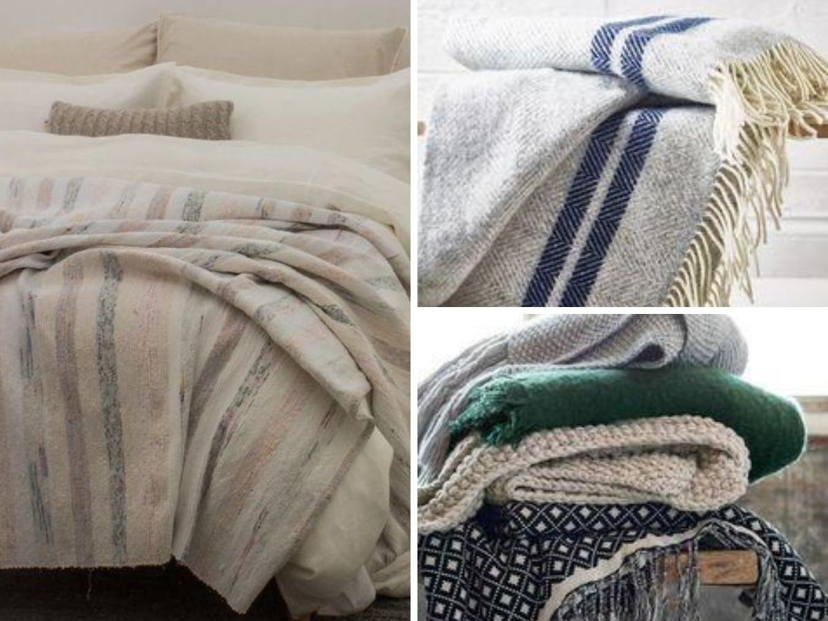 idees textiles pour chalet