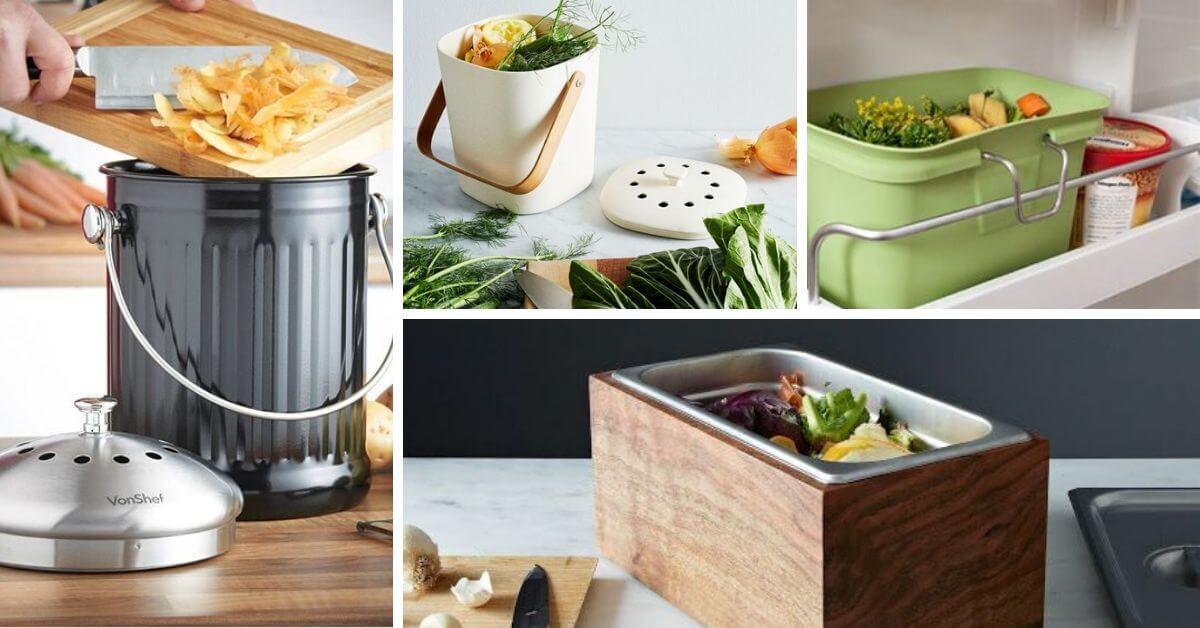 different contenant pour le compost