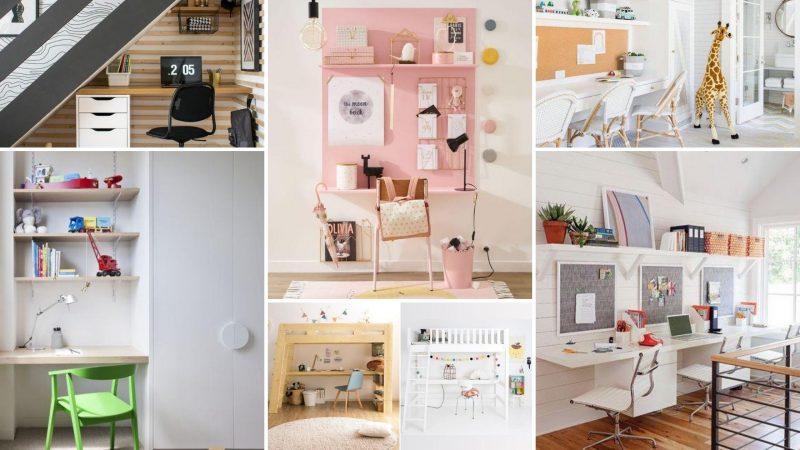 Créer un espace devoir pour vos enfants : 7 endroits à optimiser