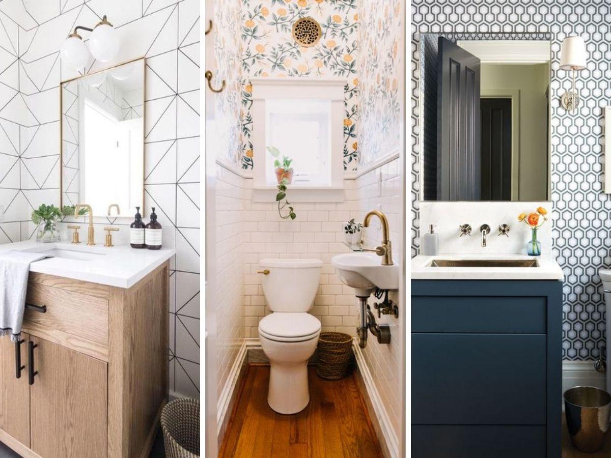 tapisserie dans salle d eau