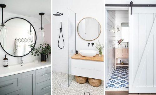 9 trucs pour faire paraître votre salle de bain beaucoup plus grande