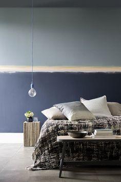 mur peint avec effet horizon