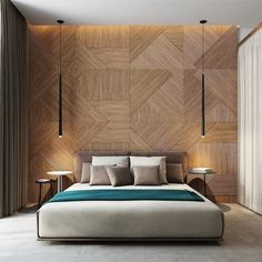 mur design en bois
