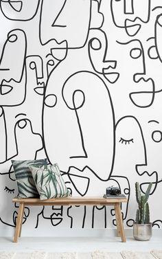 mur oeuvre d art