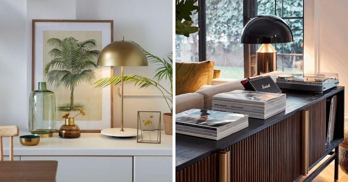 lampe table mid century