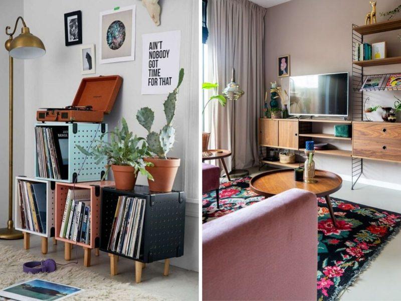 Inspiration décor rétro vintage