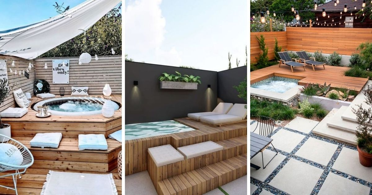 integrer une piscine ou spa a la terrasse