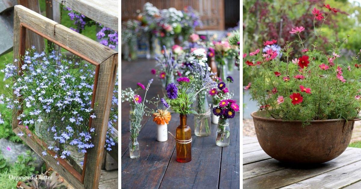 bac à fleur de tous genre deco terrasse