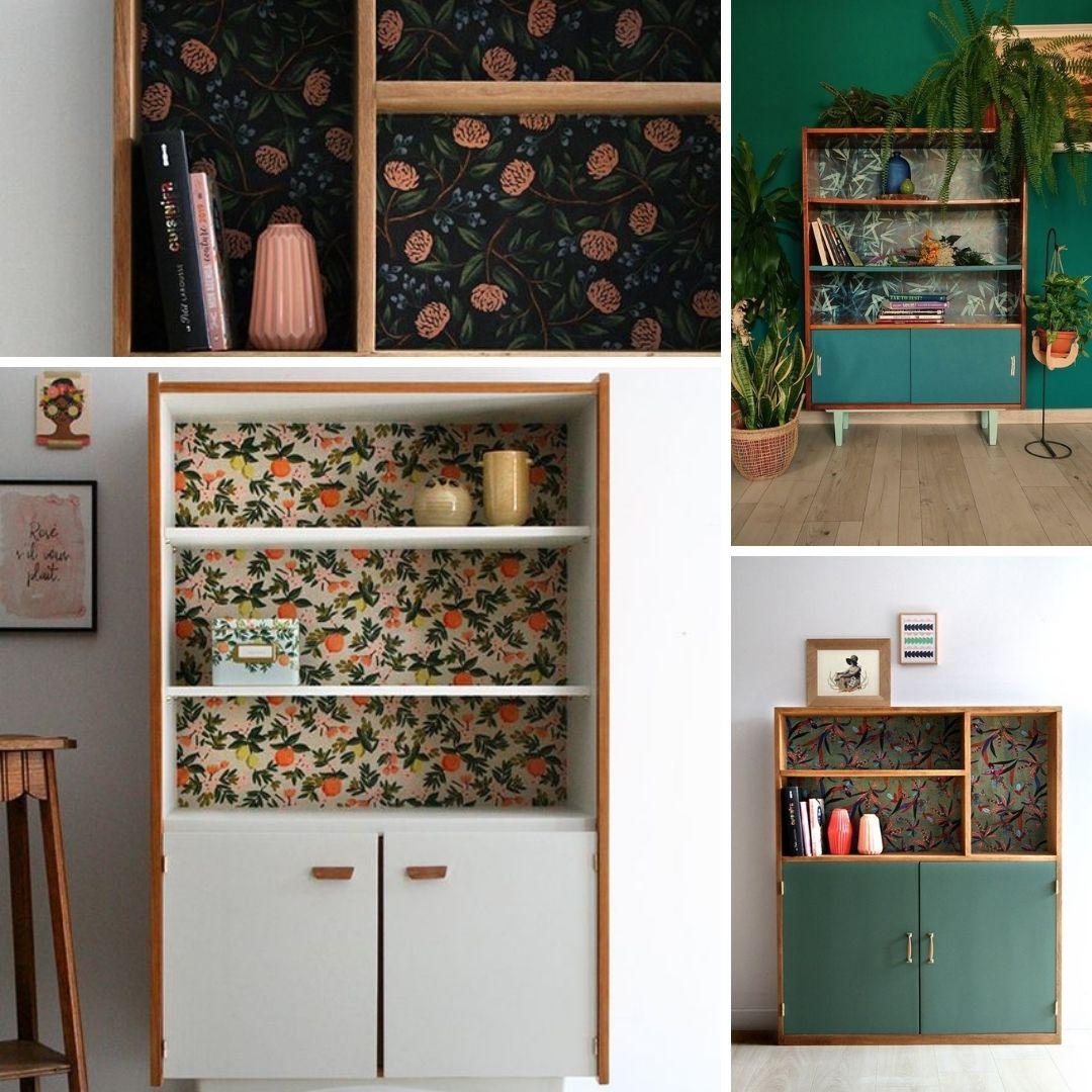 tapisserie pour relooker meuble