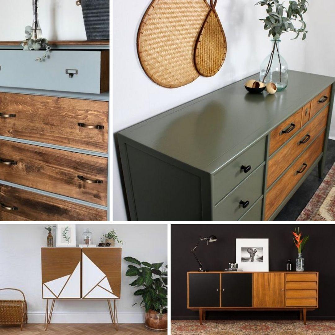 corriger defaut meuble bois peinture