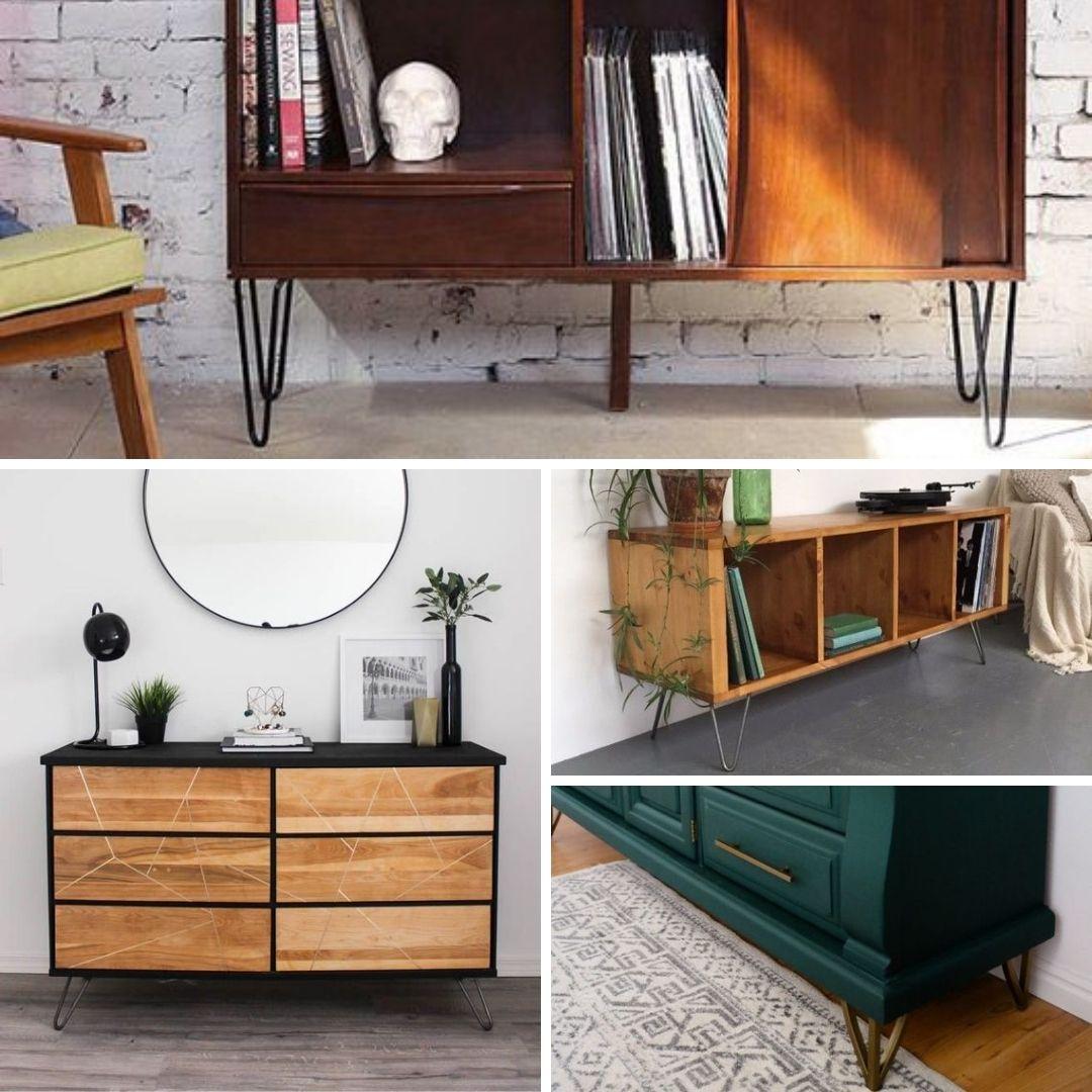 ajouter patte revamper meuble en bois
