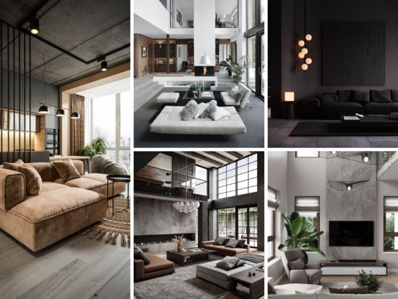 inspiration deco salon moderne